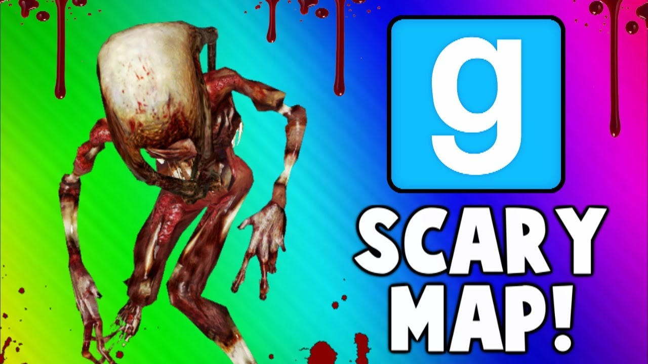 Gmod Scary Maps - Twerking, Puzzles, Jump Scares (Garry's Mod Funny on tf2 scary map, minecraft scary map, gmod scary map,
