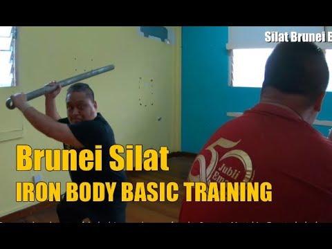 Silat Brunei Betawi Tiga - Westerners Learning Silat Iron Body Basics