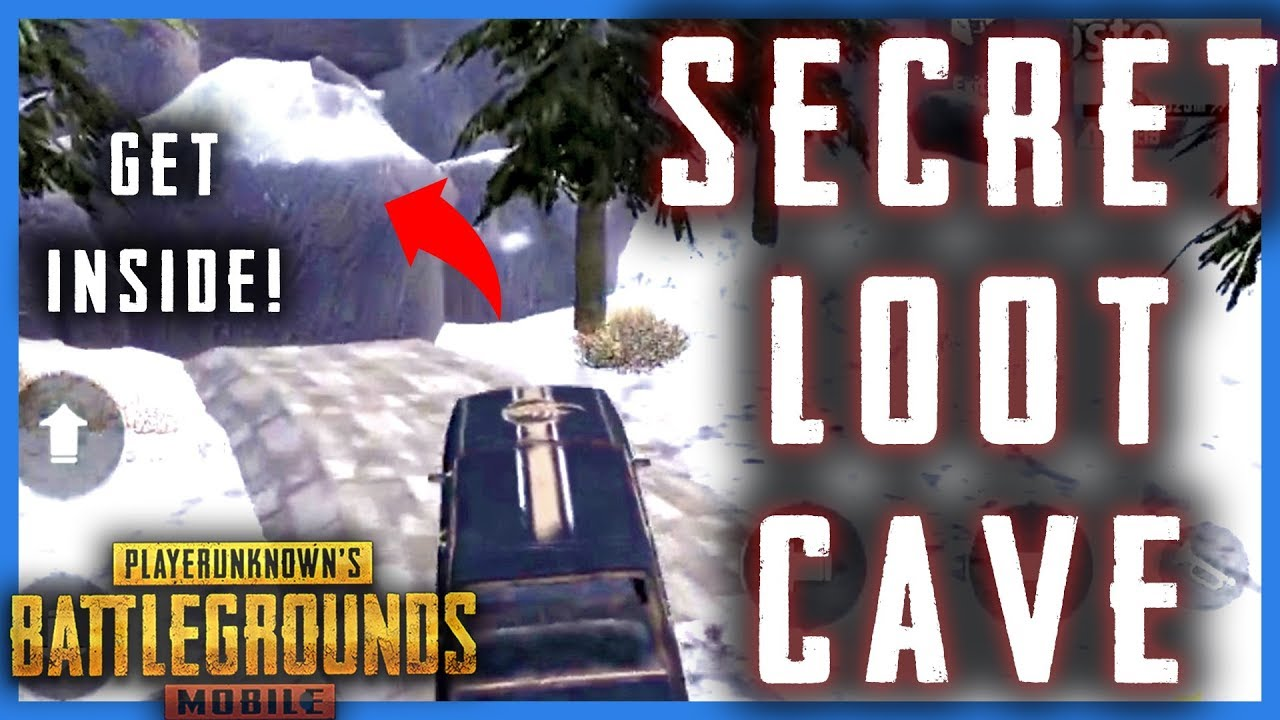 How To Get Inside Vikendi Secret Cave In Pubg Mobile Pubgm Secret Loot Cave 2019 Youtube