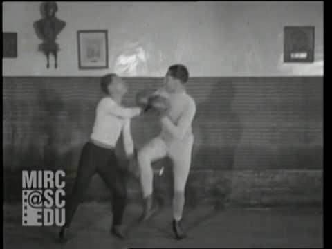 1928 Savate-La Canne-Fencing (Sabre Stick) - Charles Charlemont & Students -France