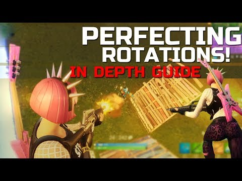 Fortnite Gameplay Rotation Tips | Perfect Guide to learning How To Rotate