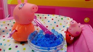 Video con i giocattoli. Giochi per bambini con le bambole. Peppa Pig episodi in italiano