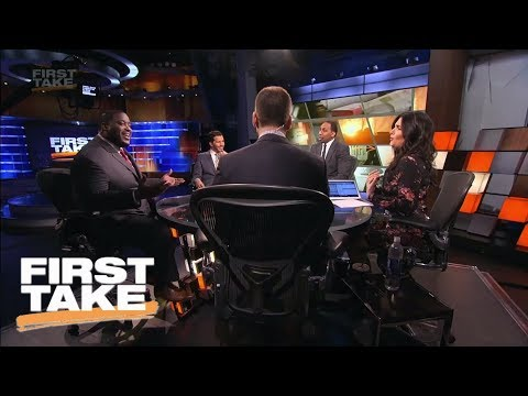 First Take desk gets heated as Damien Woody defends calling Eli Manning