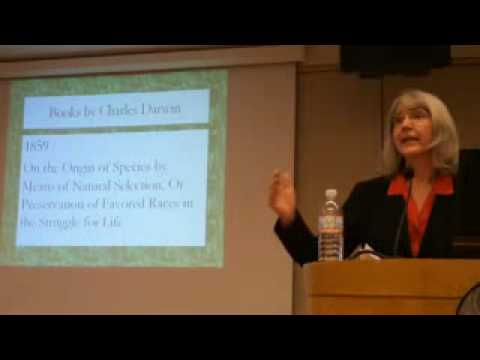 "Why Darwin Matters: Genie Scott at ""Evolutionpalooza 2009"""