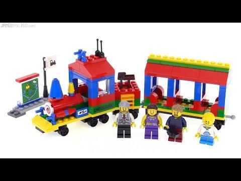 2016 LEGOLAND Train set review! 40166