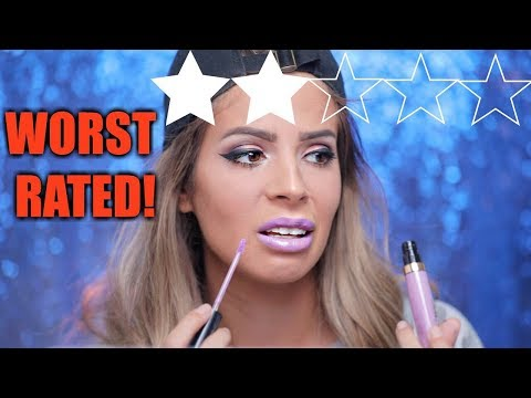 FULL FACE LOWEST RATED SEPHORA PRODUCTS | HIT OR MISS???