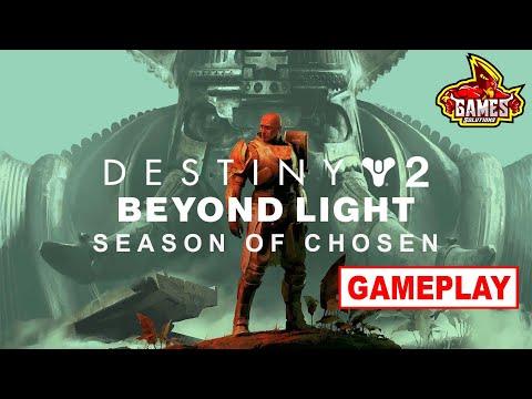 Live Destiny 2 Beyond Light - Season of Chosen |