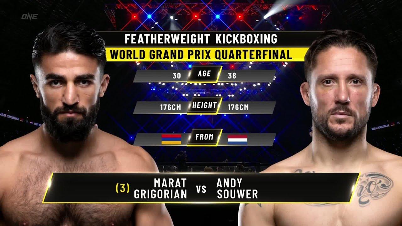 Marat Grigorian vs. Andy Souwer   ONE Championship Full Fight