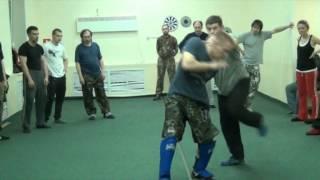 IZVOR Russian martial arts - training dril