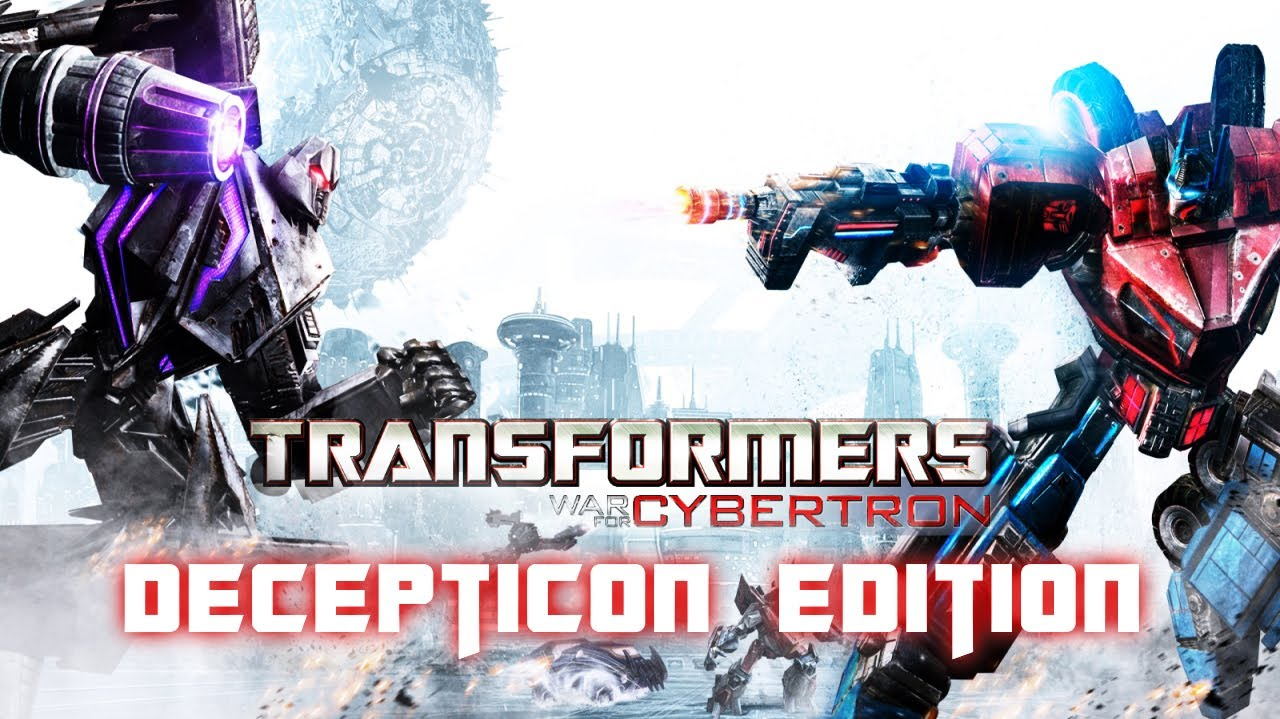 transformers: war for cybertron (decepticon edition) all cutscenes