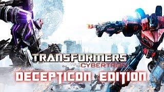 Transformers: War for Cybertron (Decepticon Edition) All Cutscenes Game Movie 1080p