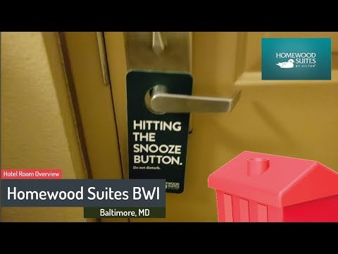 Hotel Room Overview - Homewood Suites BWI - Baltimore, MD - Traveling Office
