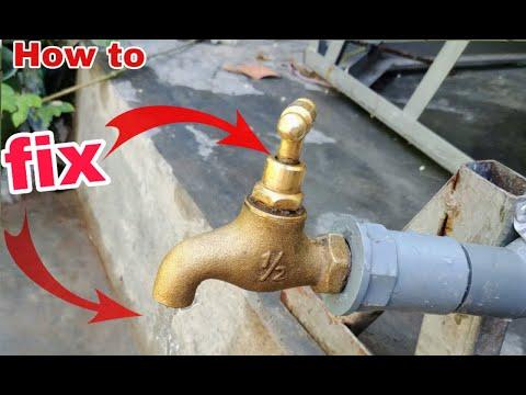 Cách sửa vòi đồng bị rò rỉ nước đơn giản hiệu quả không ngờ