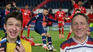 PSG 0-1 BAYERN HIGHLIGHTS REACTION - Champions League