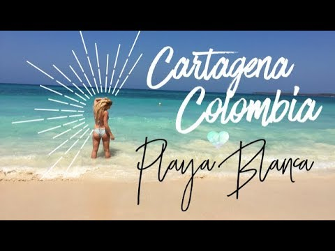Cartagena Colombia, Playa Blanca Island