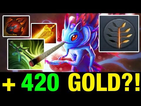 +420 GOLD?! - Draskyl Plays Puck WITH BUTTERFLY, RADIANCE AND TARRASQUE - Dota 2
