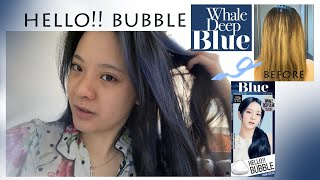 mise en scene Hello Bubble WHA…