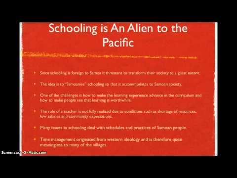 Education in Samoa