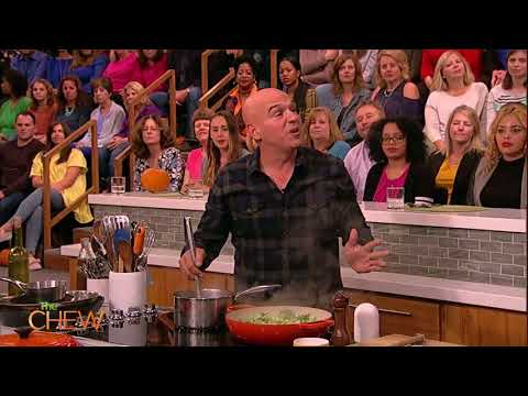 Michael Symon Makes Braised Chicken Thighs on The Chew