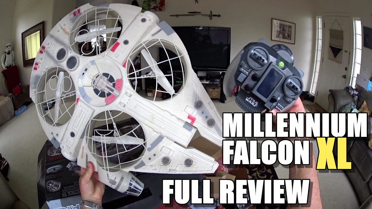 star wars millennium falcon xl drone full review. Black Bedroom Furniture Sets. Home Design Ideas