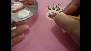 passo a passo da flor carga dupla que esta disponivel no dvd 1 by nanda costa