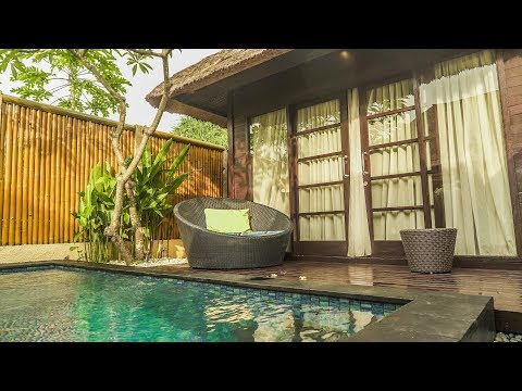 My PRIVATE POOL VILLA Tour in Bali