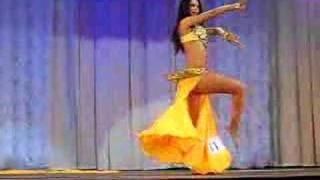 N Antipova - EU Champion in Bellydance 2007 (quaterfinal)