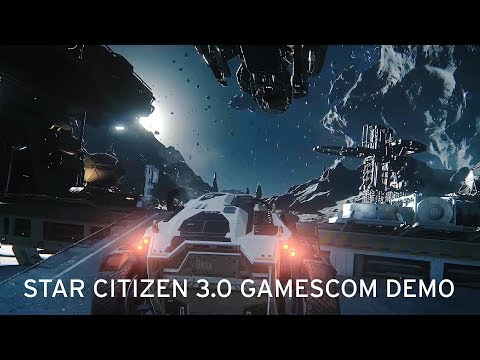 Star Citizen 3.0 Gamescom 2017 Demo Alpha 3.0 Gameplay [1080p 60FPS]