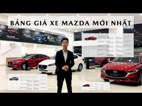 BẢNG GIÁ XE MAZDA THÁNG 12/2020 | Giá mới chỉ 479 Triệu