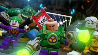 LEGO Batman 3: Beyond Gotham - Walkthrough Part 5 - Space Station Infestation (Firefly Boss)