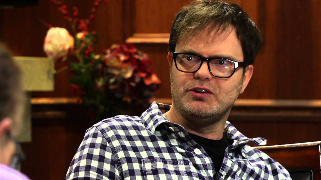 The Office Star Rainn Wilson On Why They Decided To End Show Larry King Now Ora Tv