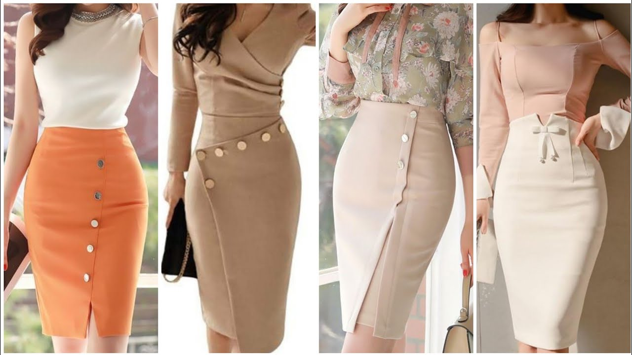 Office Wear Pencil Skirt Collection For