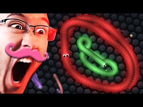 GET IN MY BELLY!! | Slither.io #2