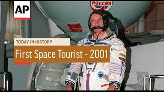 First Space Tourist - 2001 | Today In History | 28 Apr 17