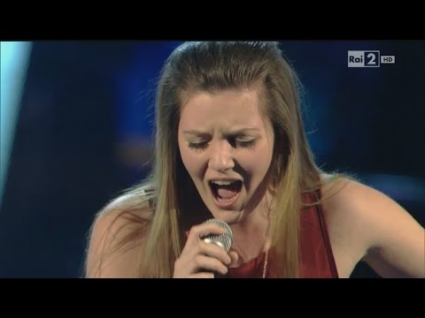 "Carola Campagna, ""Ti Sento"" - The Voice of Italy, KnockOut"