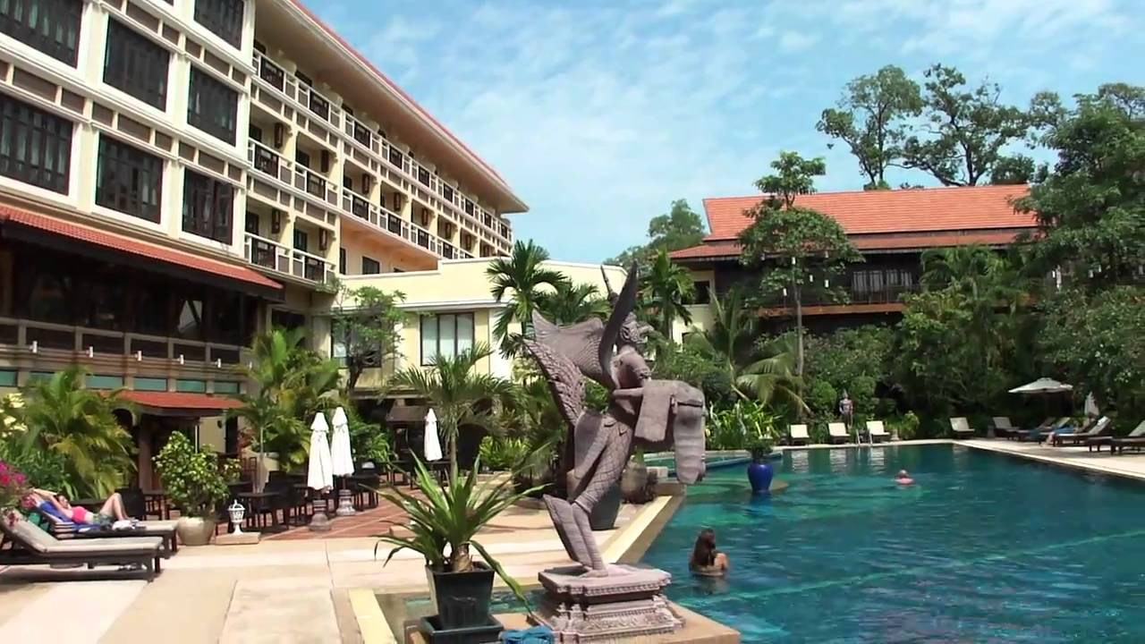 Angkor Palace Resort Spa The Pool At Prince Dangkor Hotel Spa Siemreapinfo Youtube
