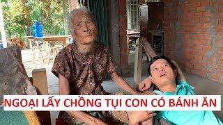 """Khương Dừa bày đầu đám cháu """"gả"""" bà ngoại 95 tuổi để kiếm bánh ăn!!!"""