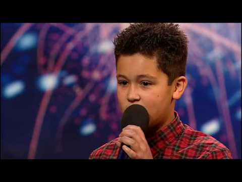 [+captions] Shaheen Jafargholi (HQ) Britain's Got Talent 2009