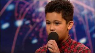 [+captions] Shaheen Jafargholi (HQ) Britain's Got Talent 2009 thumbnail