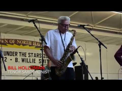 The B. Willie Smith Band Performing for North Havens Music Under The Stars