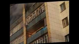 Мощный пожар в Тюмени (1). Подробности на tumix.ru