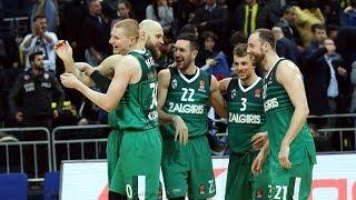 #SlowMotion: Zalgiris defeats EuroLeague champions on the road