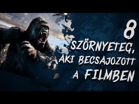 8 Szörnyeteg, aki BECSAJOZOTT a filmben