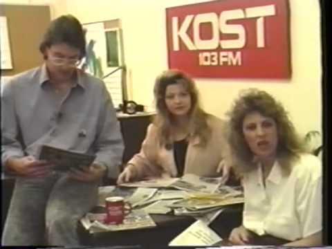 1989 KOST 103.5 Station Tour