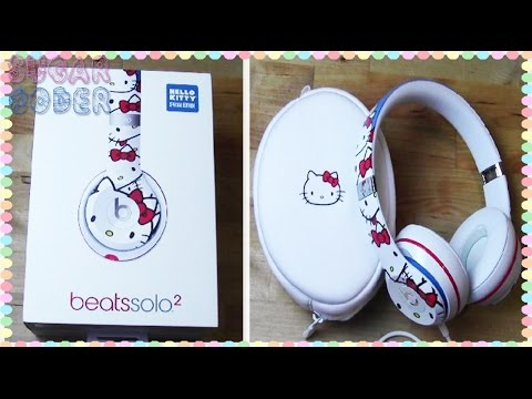Hello kitty beats solo 2 unboxing sugarcoder youtube