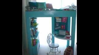 American Girl Custom Mckenna Loft Bed