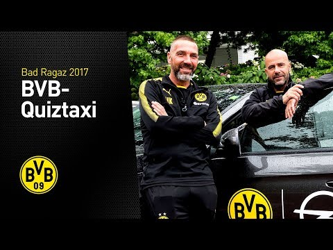 BVB-Quiztaxi in Bad Ragaz | Special-Edition | Peter Bosz & Hendrie Krüzen
