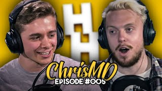 CHRISMD'S REVEALS ALL IN HIS FIRST EVER PODCAST!