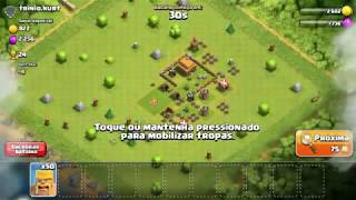Batalha Cv3 Vs Cv3 (Clash of clans parte 3)