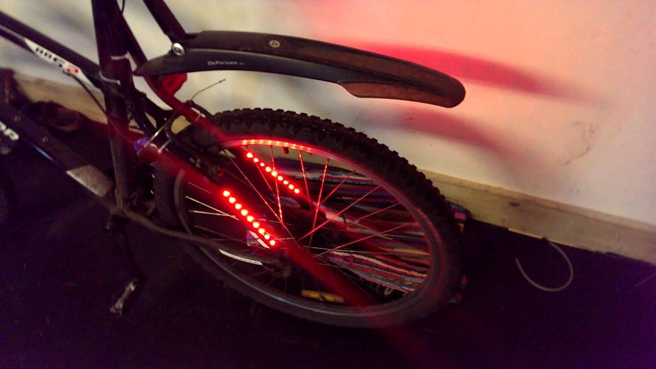 Diy Led Bicycle Lights Youtube